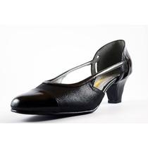 Zapato David Corsaro Piel Negro C/microserpiente Mod.497