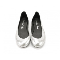 Flats Plateados London Sole
