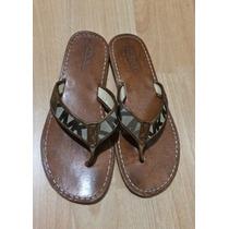 Zapatos Sandalias Michael Kors Mk Signature Piel Fina!!!