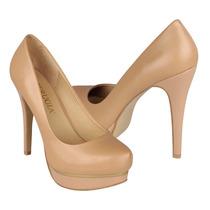 Perugia Zapatos Dama Tacones 13761 Piel Nuede