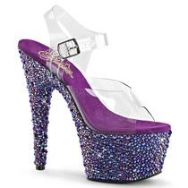 Zapatillas C/ Brillantes V.colores Bejeweled-708ms Bailarina
