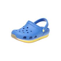 Crocs - Sandalia Retro Clog Azul - Azul - Crocs Retro Clog K