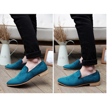 Zapatos Mocasines Gamusa Otoño15 Moda Britanica Principe