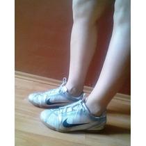 Tenis Nike Originales Blanco Traslucido Numero 4.5 Mex Gym