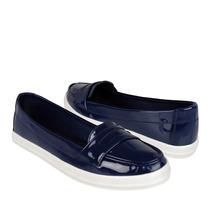 Miss Pink Zapatos Dama Piso 110935 Charol Marino