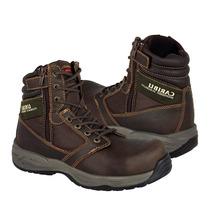 Caribu Zapatos Caballero Botas 710 Piel Cafe