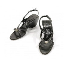Zapatos Negros Salvatore Ferragamo