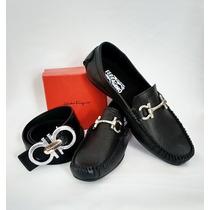 Zapatos De Piel Para Caballero Hermes,ferragamo,gucci.