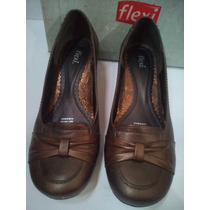 Zapatos Con Mini Tacon Flexi