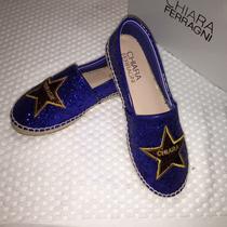 Zapatos Espadillas Flat Chiara Ferragni