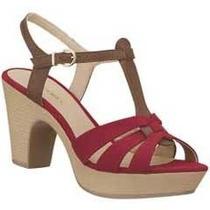 Hermosas Zapatillas Sandalias Andrea Rojas Tacon Pequeño 8cm