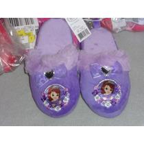 Disney Preciosas Pantunflas # 9/10 Princesa Sofia/ 19 Cm.