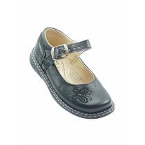 Nataly Zapato Escolar Niña Negro - 0027na172255312