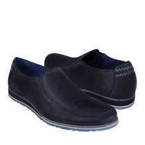 Flexi Zapatos Caballero Casuales 76802 Piel Navy