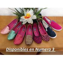 Zapatos Tipo Flats Para Dama Diferentes Modelos