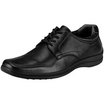 Zapatos Casuales Hush Puppies Hb-4050 Negros Piel Oi