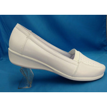 Calzado Enfermera Piel De Borrego/piel Vac. Interior.confort