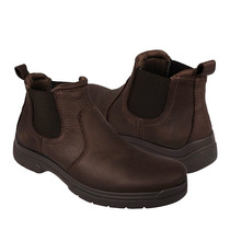 Hush Puppies Zapatos Caballero Botas Hb-0390 Piel Chocolate