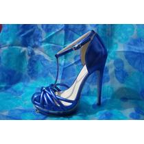 Oferta Zapatilla Zapato 24,24.5 Y 25.5 Altas Andrea Azul