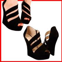 Sandalia De Plataforma Para Dama, Botas, Botines Y Flats