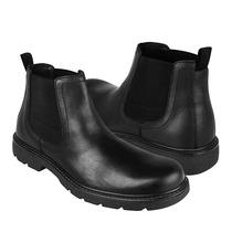 Flexi Zapatos Caballero Botas 94602 Piel Negro