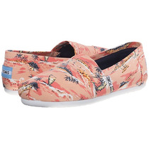 Zapatos Toms Printed Coral