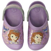Crocs Sandalias Disney Princesita Sofia Con Relieve Original