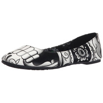 Iron Fist Zapatos Flats Night Stalker Murcielago Terciopelo