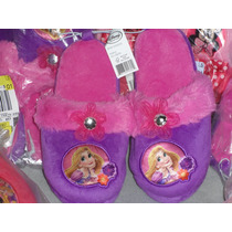 Pantunflas Disney Princesa Aurora Mex.#20 Usa 13 L 21 Cm.