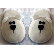 Pantuflas Pet&flats (petiflats) Oso Polar Grande