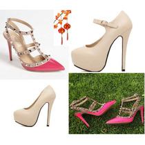 Moda Japonesa Oriental Asiatica Zapatilla Zapato Bota Pumps