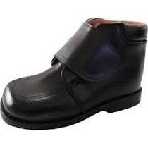 Zapato Ortopedico 100% Piel Suela En Cuero Autentico.