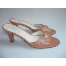 Marc Jacobs Sandalias Piel Made In Italy Buen Estado 23 Mex