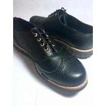 Zapatos Para Caballero 100% Piel Y Suela Tipo Tenis