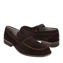 Flexi Zapatos Caballero Casuales 76601 Gamuza Moro