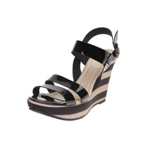 Pink Connection - Sandalia Con Plataforma - Negro - 3586