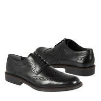 Gran Emyco Zapatos Caballero Vestir Eb-2951 Piel Negro