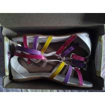 Sandalias De Piso De Colores