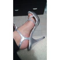 Sandalias Para Vestido De Noche Talla 5 Lindas