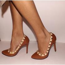 Zapatillas Fina Dama Tacon 10cm No Valentino Hermosas