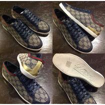 Zapatos Tenis Botín Casuales Louis Vuitton Ferragamo Gucci
