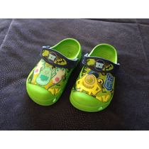 Crocs Monsters University! Brillan En Oscuridad! Talla 8-9us