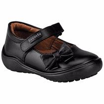 Zapatos Coqueta T/piel 170301-a Negro Niña Pv