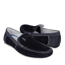 Flexi Zapatos Caballero Casuales 69901 Gamuza Navy