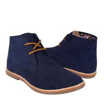 Stylo Zapatos Dama Botas 2010 Suede Azul