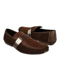 Stylo Zapatos Caballero Casuales 603 Piel Moka