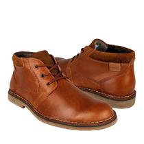 Flexi Zapatos Caballero Botas 69802 Piel Miel