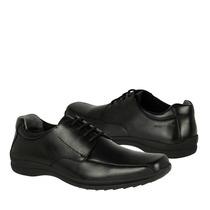 Hush Puppies Zapatos Caballero Vestir Hc-9850 Piel Negro