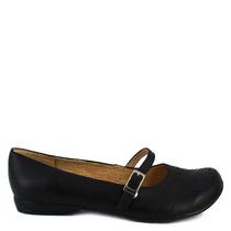 Zapato Escolar Negro Piel Cómodos Num 24 Mexicano Casual