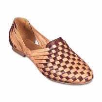 Sandalias Zapato Confort Étnicas De Piel Artesanal A Msi